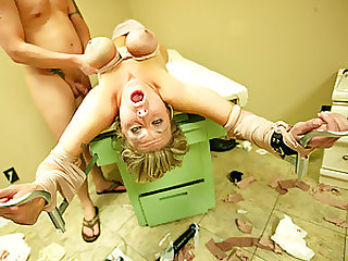 Kinky Doctor Dominates a Hot Blonde