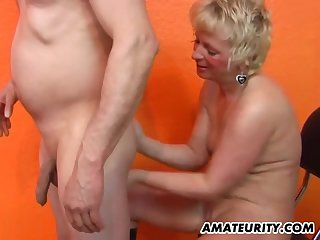 Lady with loads of experience engages in the oral adventure