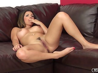 Daring Danica gets on top and works her hips on his hard cock