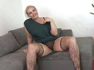 Hot housewife fucks her toyboy