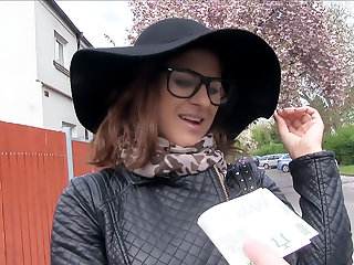 Fashion Student Fucks a Stranger